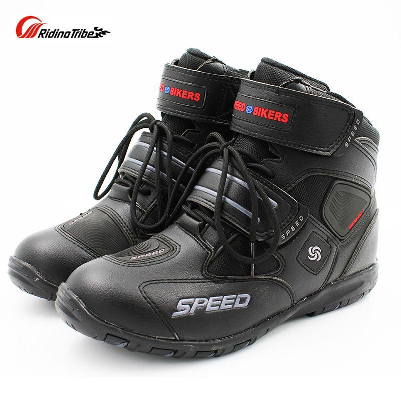 Motorcycle Riding Non-slip boots Pro-biker Racing Boots,Motorcross Boots,Motorbike Microfiber Leather shoes