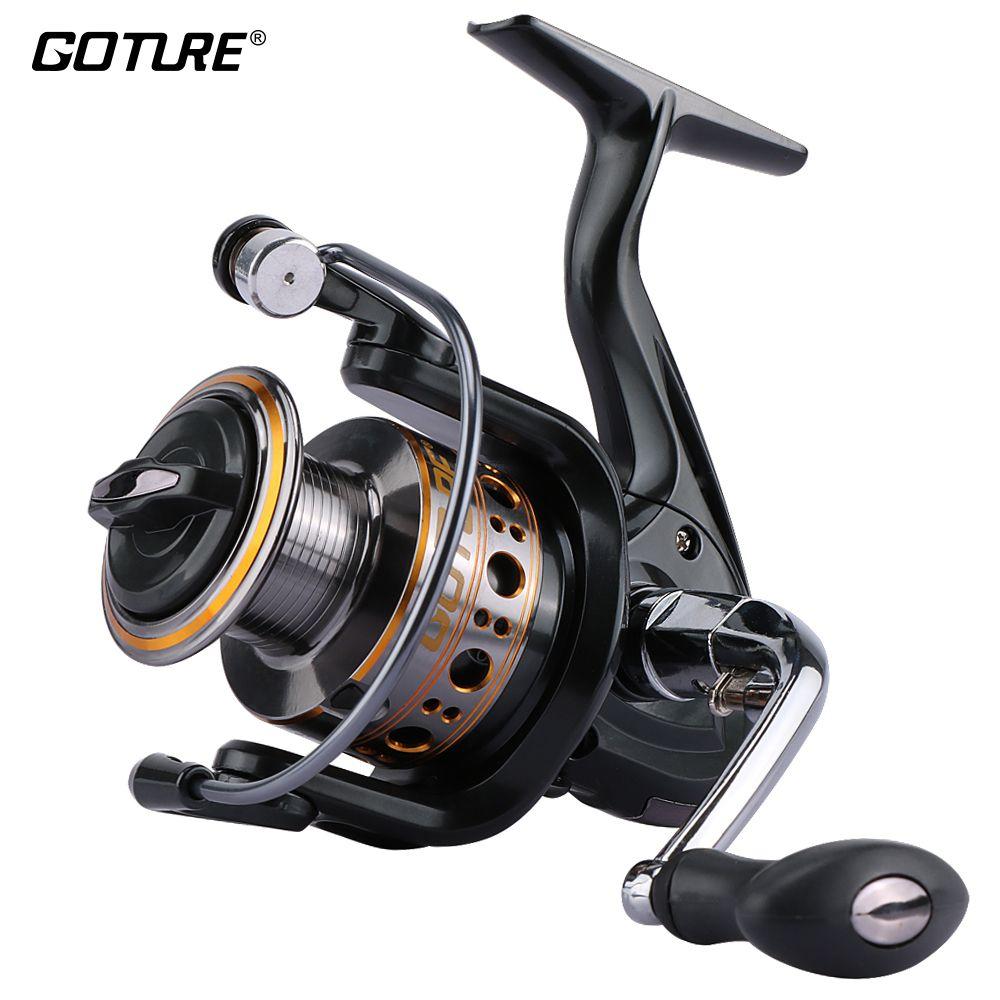 Goture Upgrading GTV Fishing Reel Aluminum Spool Spinning Reels Coil 1000-7000 Series For Carp Fishing