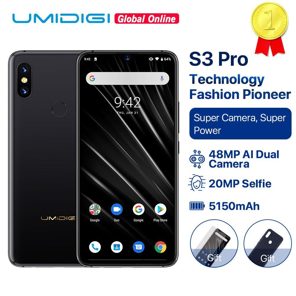 UMIDIGI S3 PRO Keramik 6 GB 128 GB Helio P70 Android 9.0 6,3