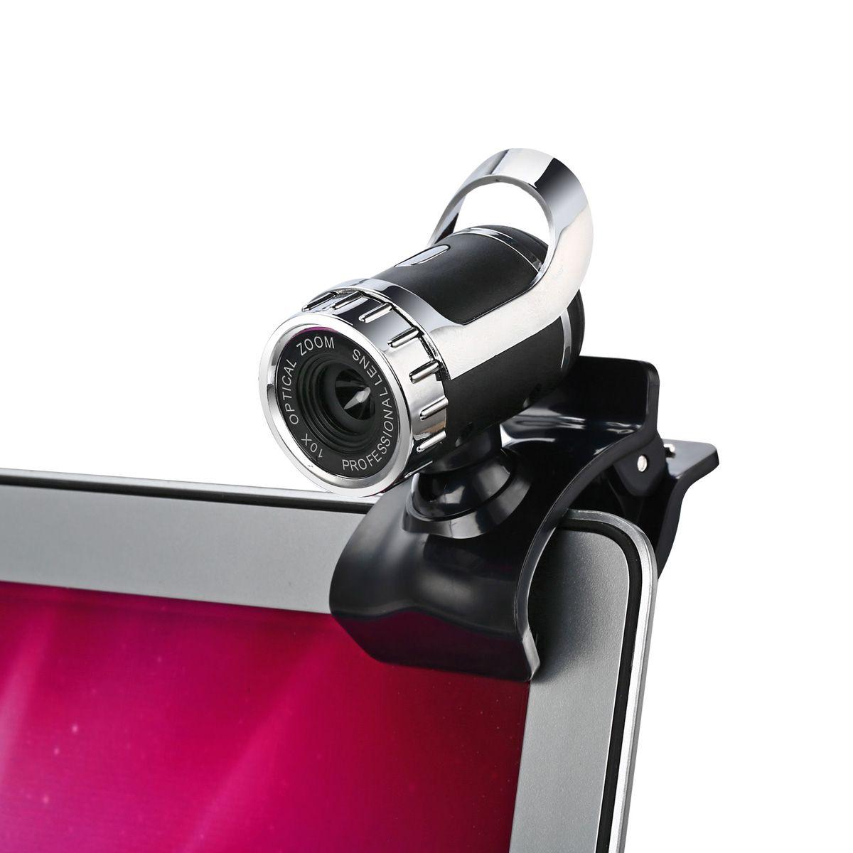 Newest 360 Degree Webcam USB 12 Megapixel HD Camera Web Cam MIC Clip-on For Skype Computer Laptop Desktop High Quality