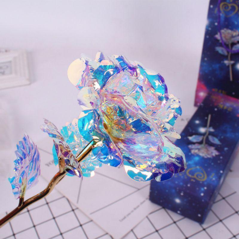 Dauert Für Immer Rose 24 k Gold Folie Überzogen Rose Geschenke