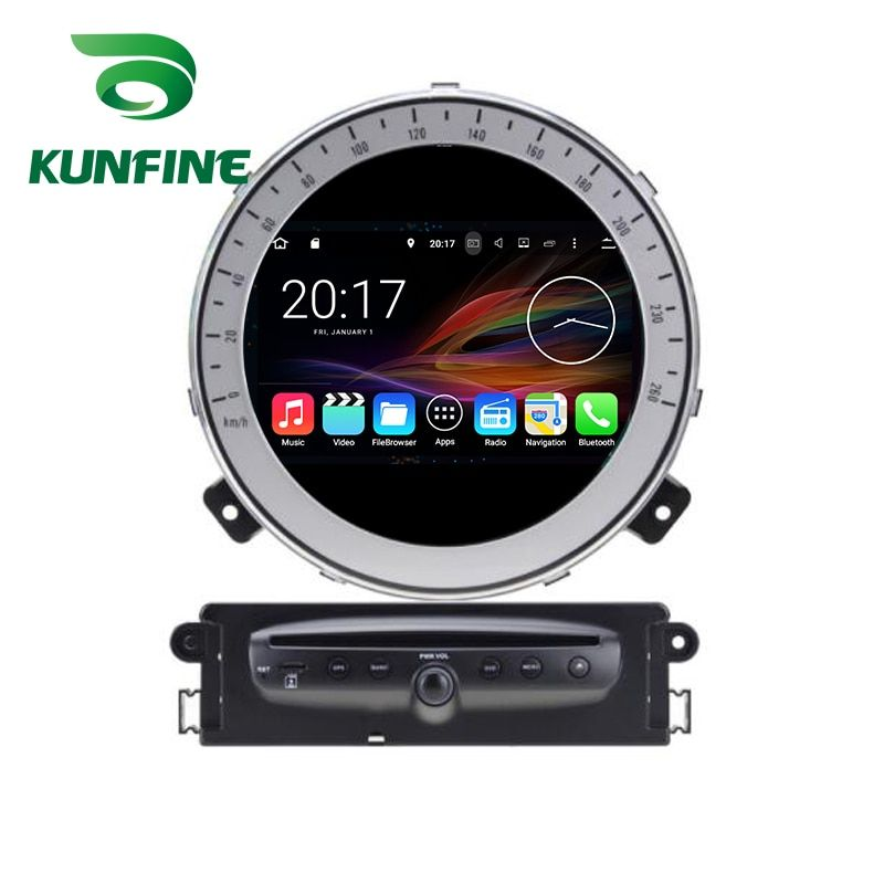 Octa Core 4GB RAM Android 8.0 Car DVD GPS Navigation Multimedia Player Car Stereo for BMW Mini Cooper After 2006-2013 Radio