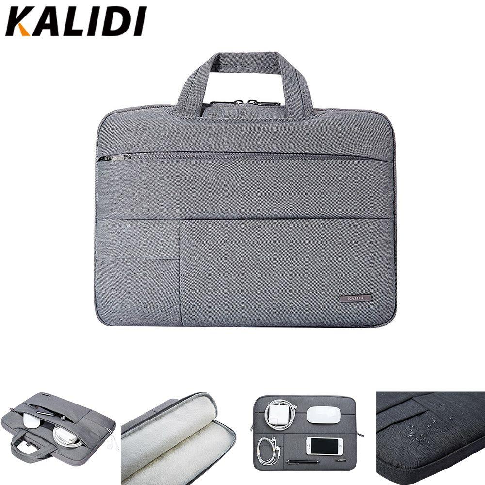Pochette d'ordinateur KALIDI 13.3 14 15 15.6 pouces sac pour ordinateur portable pour Macbook Air Pro 11 13 15 Dell Asus HP ordinateur portable acer étui étanche