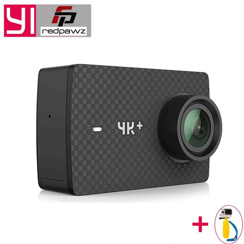 International Xiaomi YI 4K Plus Action Camera 2.19' Ambarella H2 for SONY IMX377 12MP 155 Degree 4K+Sports Camera TouchScreen