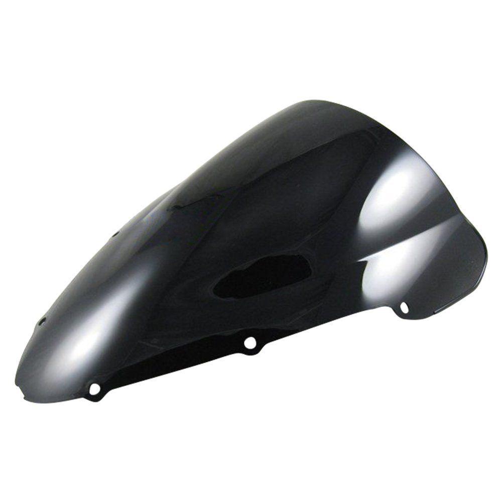 For Honda CBR 600 F4I CBR600 f4i 2001-2007 2002 2003 2004 2005 2006 Double Bubble Windscreen Windshield Black Clear Iridium