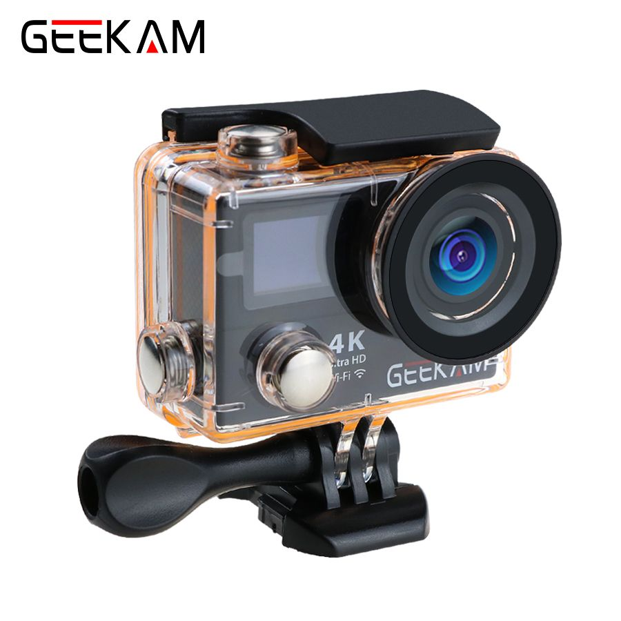 Original GEEKAM H3R H3 action camera 4K wifi Ultra HD 1080p60fps 720P120FPS pro waterproof mini cam bike video camera sport
