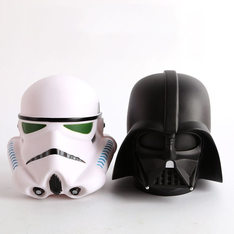 14 cm Star Wars Darth Vader Stormtrooper BB8 Mignon Tirelire Tirelire banque Boîte D'économie D'argent tirelire Figure Boîte Jouet Pour Enfants cadeau