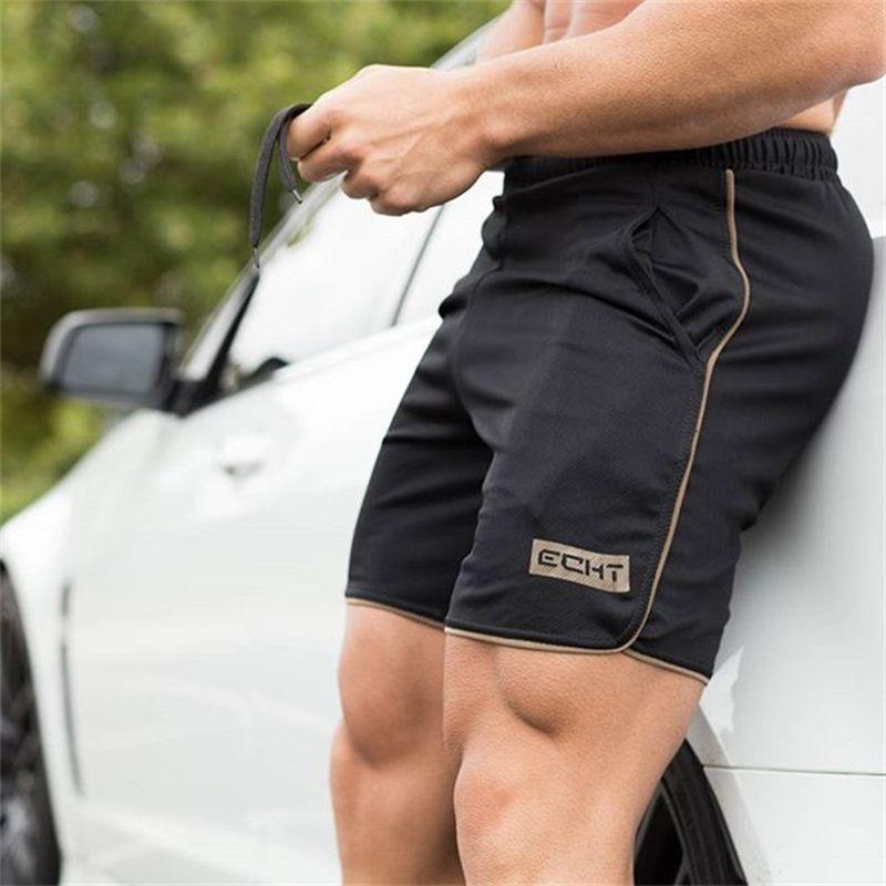 Sommer Kühl herren shorts Professionelle Fitness Bodybuilding mode Lässig turnhallen workout Crossfit Marke kurze hosen