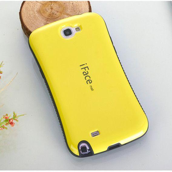 Note 2 téléphone Anti-chute étui pour samsung galaxy Note 2 N7100 coque antichoc coque anti-chocs couleur bonbon