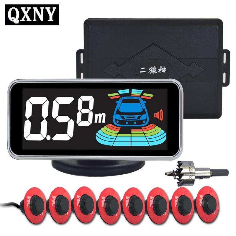8 sensors NY606 Car Parking Sensor Automobile Reversing Radar parking car detector parking assistance parking radar Reverse