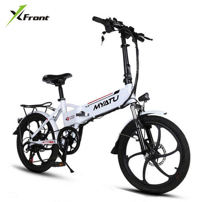 Neue X-front marke Aluminium rahmen 20 zoll e-bike 6 geschwindigkeit falten mini ebike 250 Watt lithium-batterie elektrische fahrrad