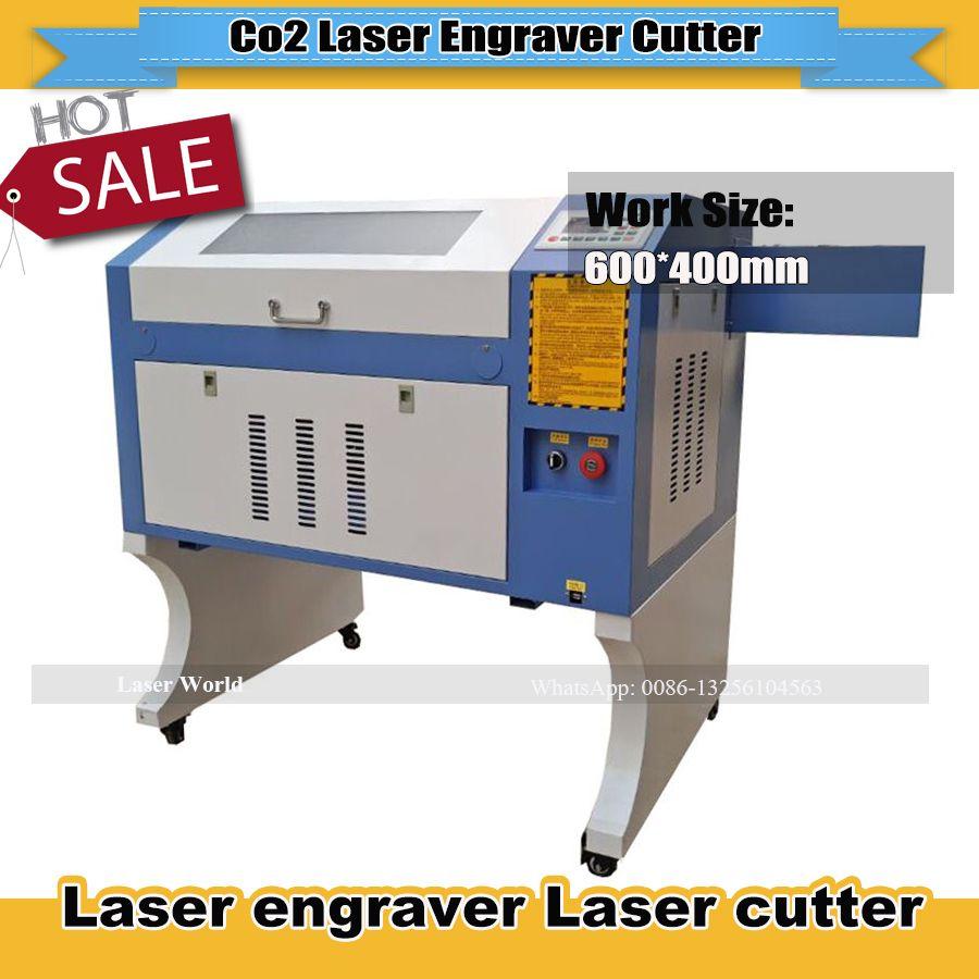 Freeshipping Co2 laser graviermaschine autofokus cnc laser 4060, graviermaschine CO2 laser cutter laserschneiden ruida