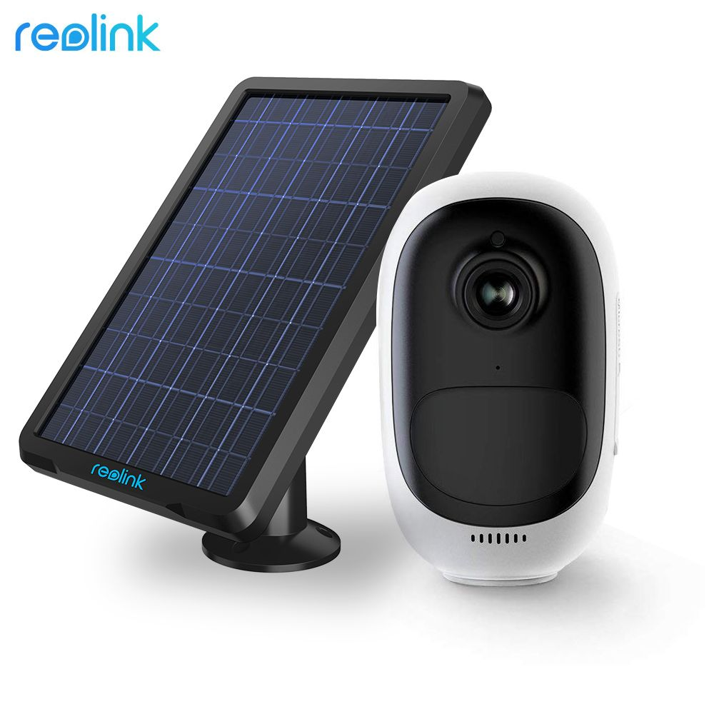 Reolink Argus Pro with Solar Panel Power Charging Rechargeable Battery WiFi Surveillance Camera for Outdoor Indoor Security