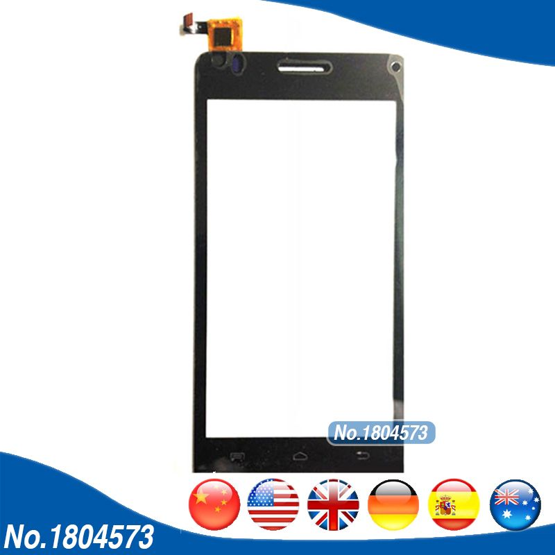 Black Color Touch Screen For Explay Tornado Touch Screen Digitizer Front Glass Panel Len 1PC/Lot