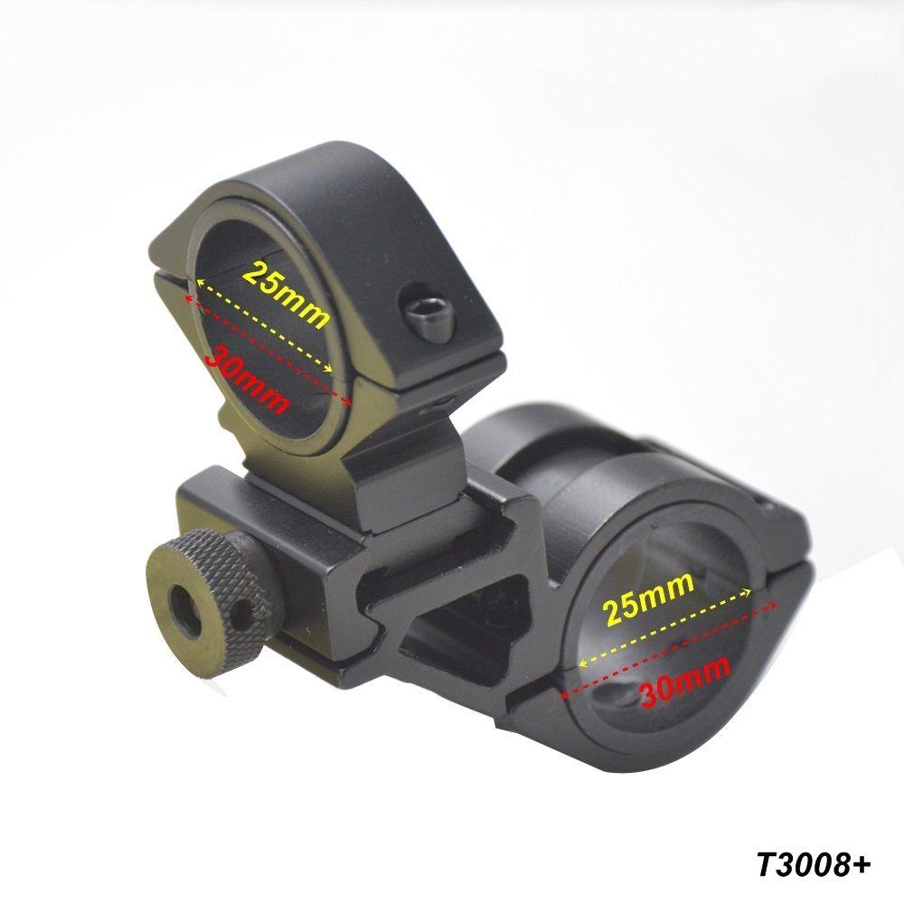 AloneFire 30mm ring Sight bracket scope mounts Bike Bicycle Light Torch Flashlight Handle Bar Handlebar Clip Mount Bracket Holde