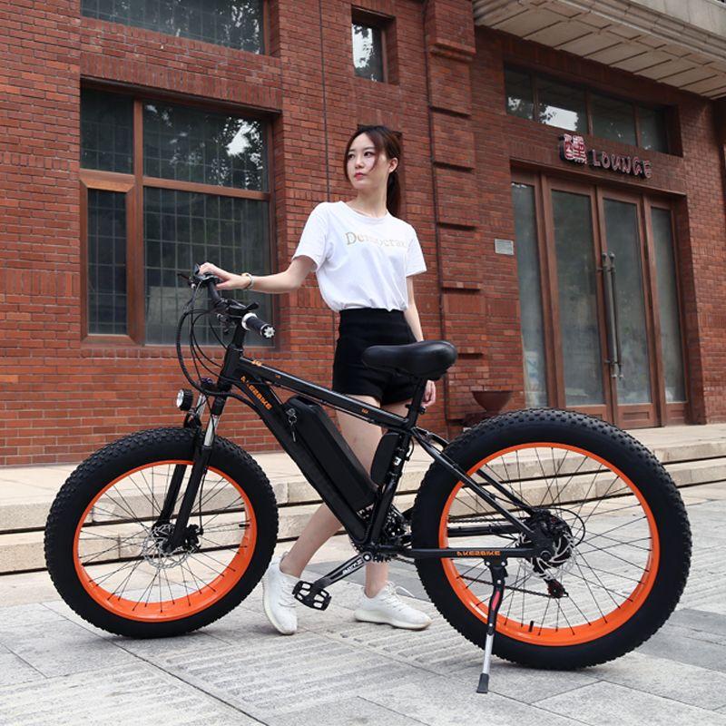 Elektrische Fahrrad 26x4,0