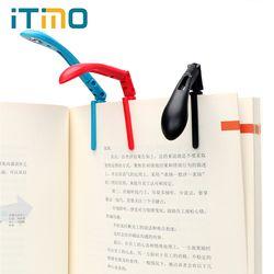 Itimo Clip-en el libro de lectura lámpara con batería plegable LED Luz para leer para el lector Kindle ajustable flexible noche libro Luz