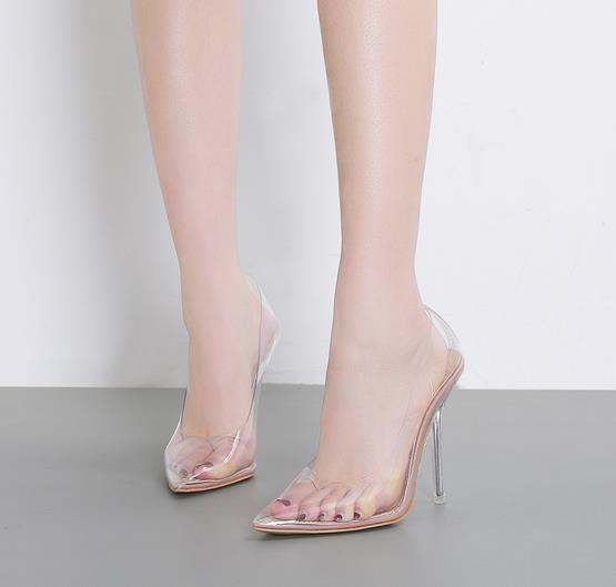 Frauen schuhe sommer sandls sheer wies hohe schlank und sexy kleid schuhe hochzeit schuhe high heels
