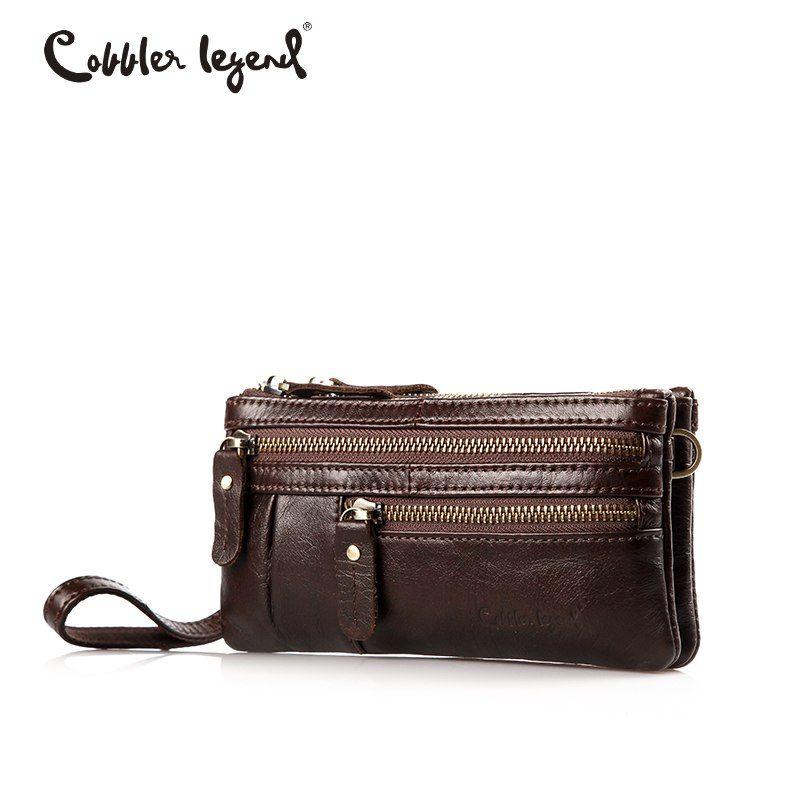 Cobbler Legend petit sac bandoulière en cuir véritable sac Messenger femme marque sacs à main Multi poche téléphone sac pochette
