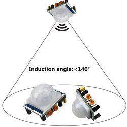 SR501 Motion Sensor Détecteur Module HC-SR501 Régler IR Infrarouge Pyroélectrique PIR module pour arduino Diy Kit