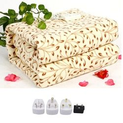 NewElectric Blanket Electric Heated Blanket Mat 220v Manta Electrica Blanket Heated Blanket Couverture Electrique Carpets Heated