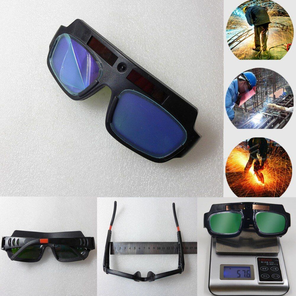 See HD Video Inside! Solar Powered Auto Darkening Welding Helmet Mask Welding Glass Welding Glasses