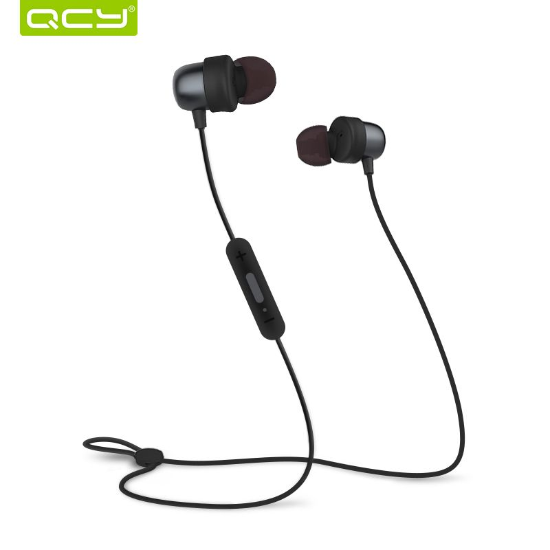 QCY QY20 Bluetooth <font><b>headphone</b></font> IPX5-rated sweatproof wireless earphone sport headset with microphone