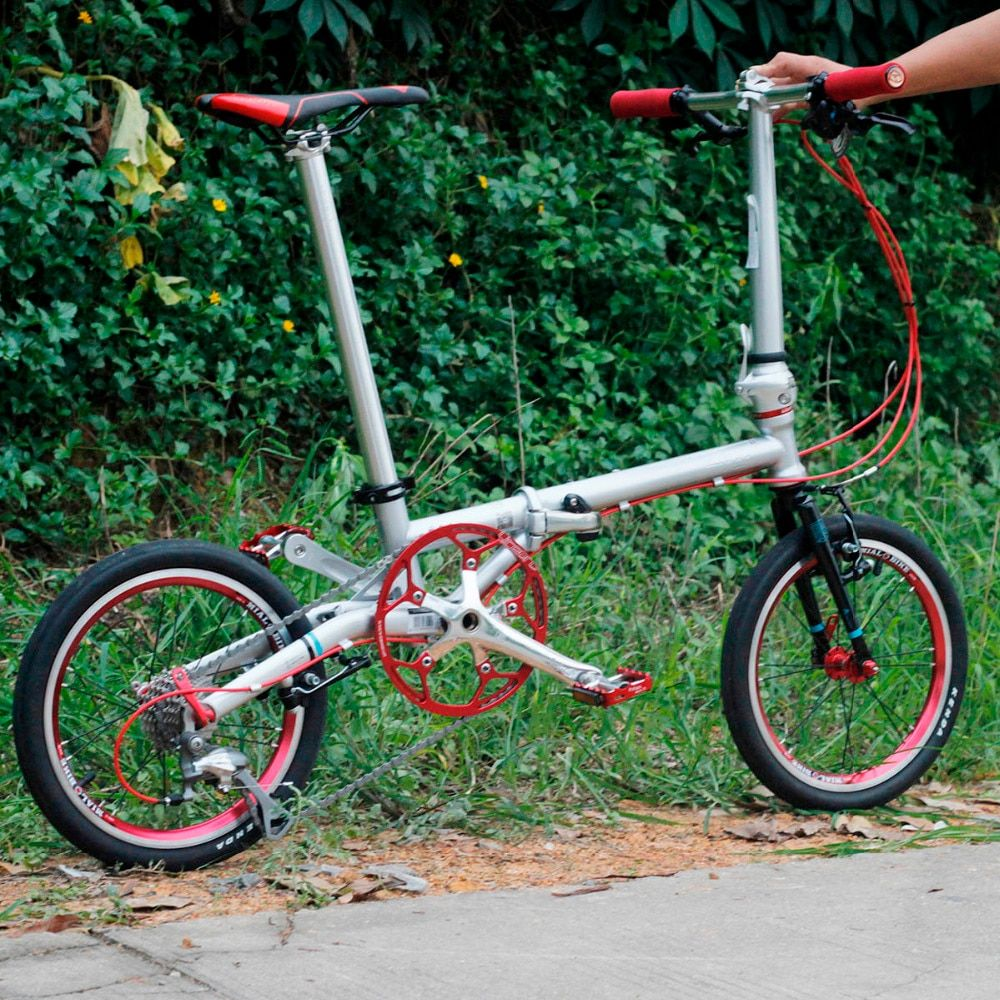 Fnhon Gust CR-MO Steel Folding Bike 16