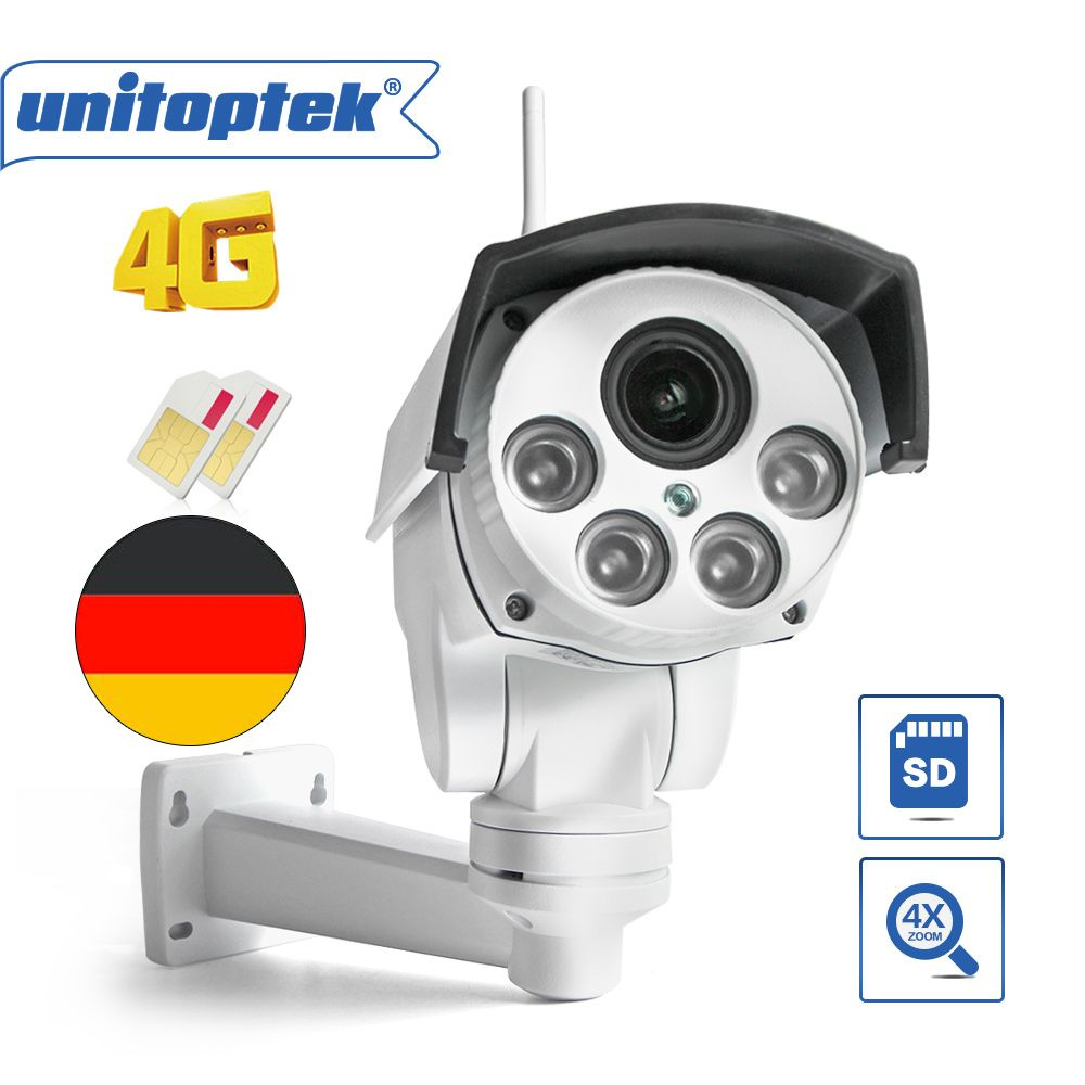 Outdoor Wireless 3G 4G SIM Card Camera CCTV 960P 1080P P2P CamHi 25FPS Real Time Monitor Max 128G Micro SD Card Storage