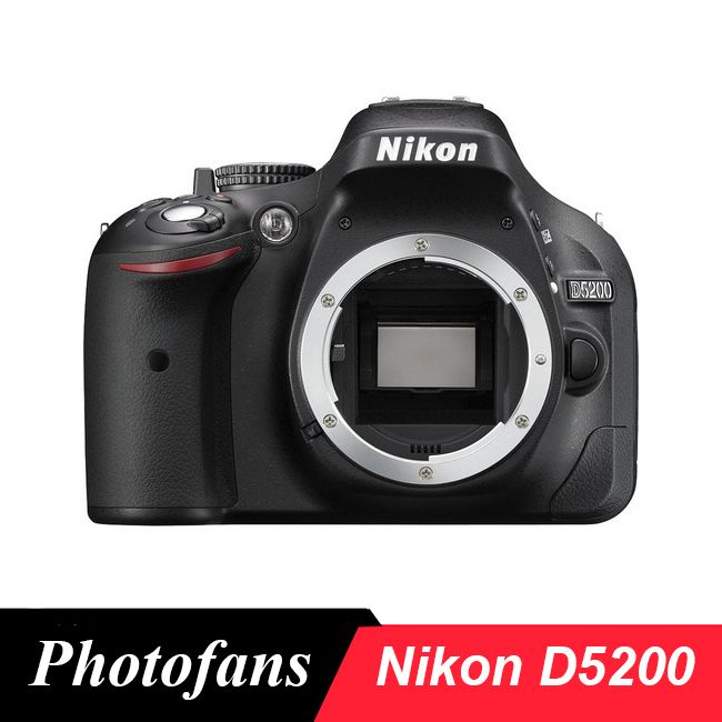 Nikon D5200 DSLR Kamera-24.1MP-Video-Vari-Winkel LCD (Marke Neue)
