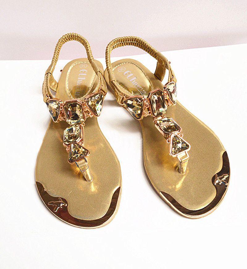 Shoes women sandals 2018 hot fashion rhinestone summer shoes women sandals <font><b>clip</b></font> toe women shoes sandalia feminina