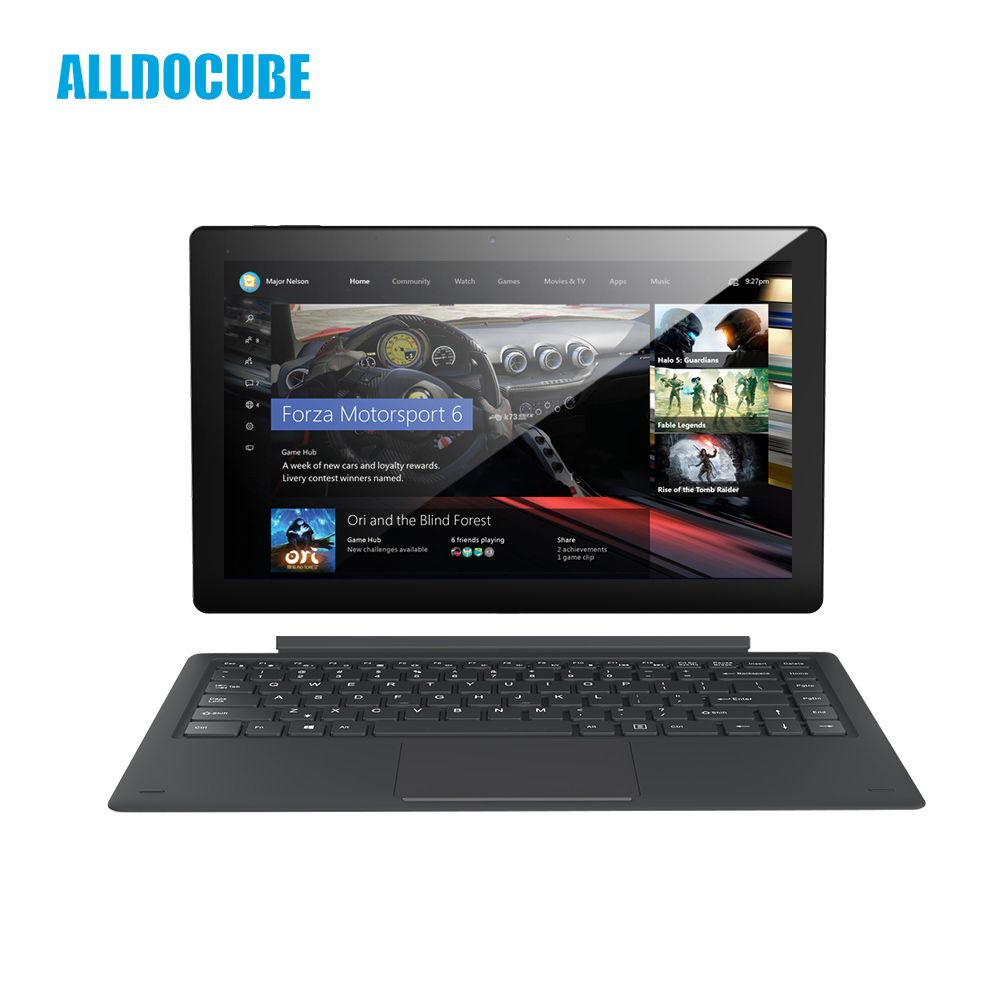 ALLDOCUBE Knote8 13,3 zoll 2 IN 1 Tablet PC Full View 2560x1440 IPS Windows10 intel Kabylake 7Y30 8 gb RAM 256 gb ROM Micro HDMI