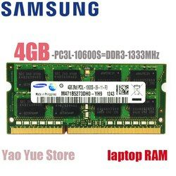 Samsung Ordinateur Portable Portable 1 GB 2 GB 4 GB DDR2 DDR3 PC2 PC3 667 MHZ 800 MHZ 1333 MHZ 1600 MHZ 5300 S 6400 S 10600 S 12800 S ECC RAM mémoire