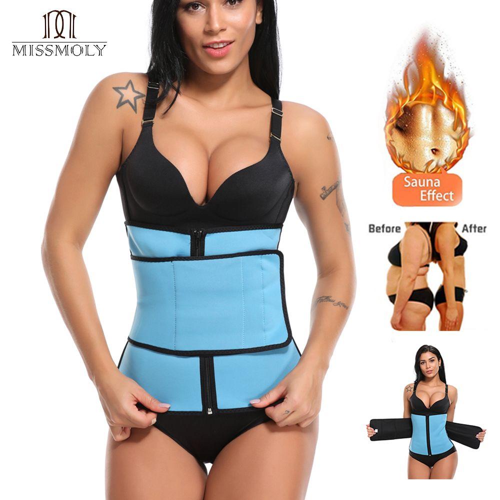Hot Body Shaper Slimming Wrap Belt Waist Trainer Cincher Corset Fitness Sweat Belt Girdle Shapewear Plus Size Women Mens Sauna