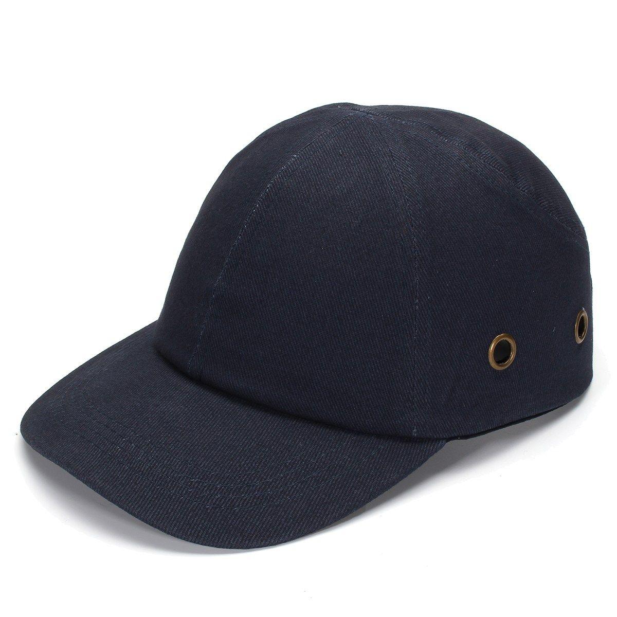 NEUE Safurance Blau Baseball Anstoßkappen-Leichte Sicherheitshelm Kopf Schutzkappen Arbeitsschutzhelm