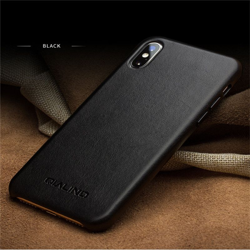 Genuine Leather Phone Case for iPhone XS Plus Luxury Soft Business Style Ultra Thin Back Cover for iPhone XS Plus MAX 6.5 inch