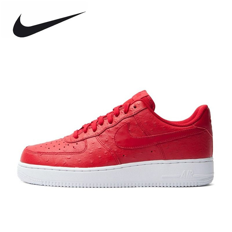 Nike Original New Arrival Authentic AIR FORCE 1 Men's Skateboarding SPorts Shoes Sneakers 718152-603