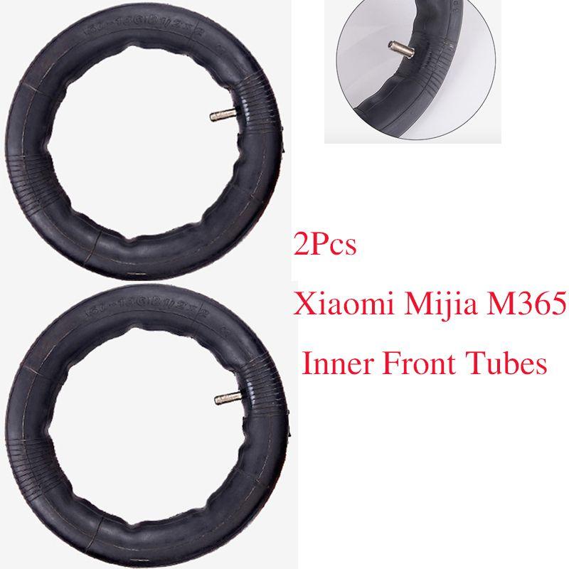 2 шт. обновлен Xiaomi mijia M365 шины электрический самокат 8 1/2x2 камер пневматические Покрышки прочный толстые Колёса твердой внешней Шины для мото...