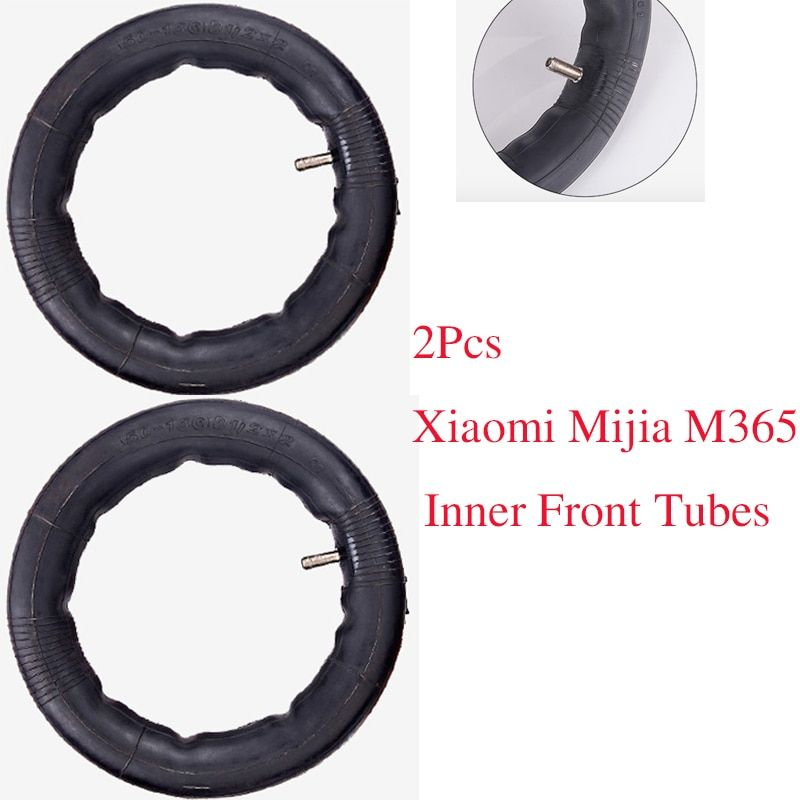 2Pcs Upgraded Xiaomi Mijia M365 Tyre Electric <font><b>Scooter</b></font> 8 1/2x2 Inner Tubes Pneumatic Tires Durable Thick Wheels Solid Outer Tyres