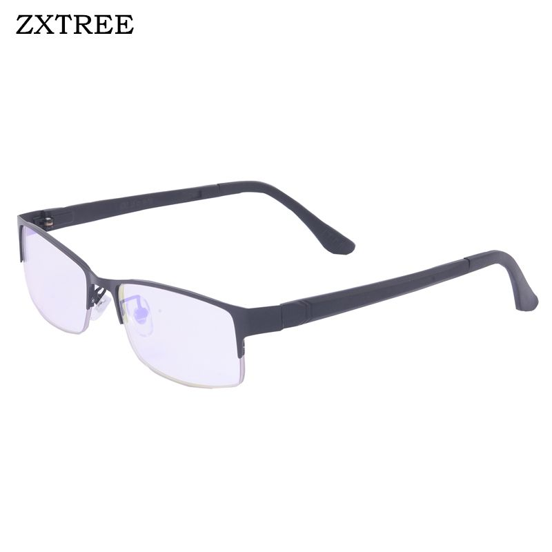 ZXTREE 2018 Half Frame Red Green Color Blind Sunglasses Women Fashion Color-blindness Glasses Colorblind Driver Spectacles Z399