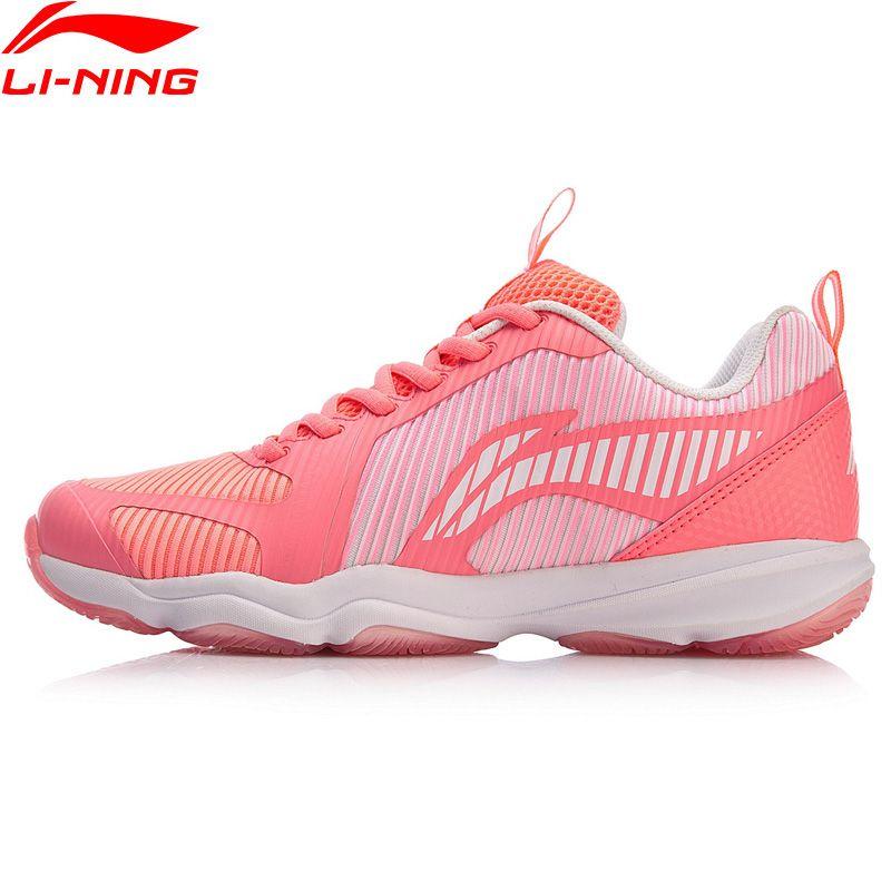 Li-Ning Frauen RANGER TD 3 Badminton Training Schuhe Stabile Unterstützung Tragbare Turnschuhe Futter Sport Schuhe AYTN062 XYY118