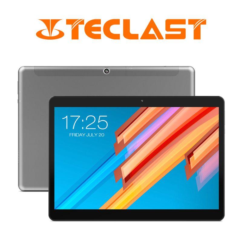 10.1 pouces 2560*1600 tablette PC Teclast M20 MT6797 X23 Deca Core Android 8.0 4 GB RAM 64 GB ROM double 4G téléphone tablettes double Wifi GPS