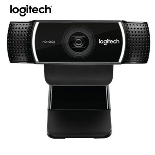 100% ursprüngliche Logitech C922 PRO Autofokus Webcam Eingebaute Mikrofon Full HD Anker Kamera Mit stativ