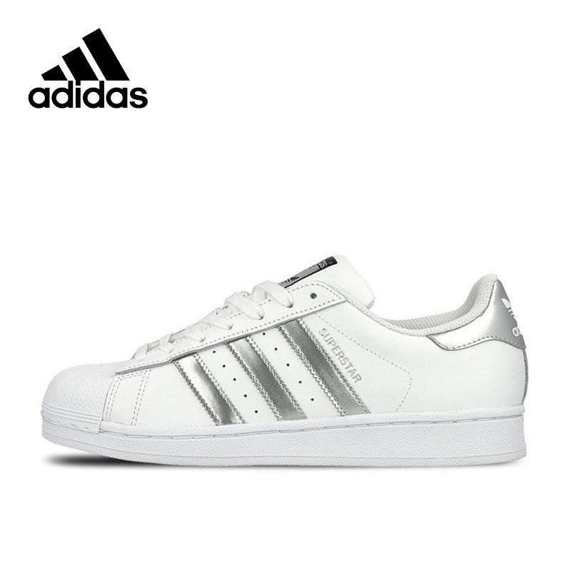 Adidas SUPERSTAR Original Neue Ankunft Offizielle Klee frauen Und männer Skateboard Schuhe Sport Outdoor Turnschuhe Gute Qualität