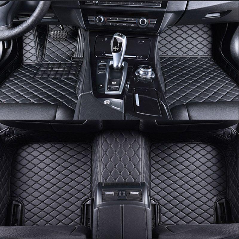Spezielle auto-fußmatten für HUMMER H2 H3 auto styling auto zubehör auto Aufkleber teppich Nach fußmatten 3D Schwarz/rot/Grau