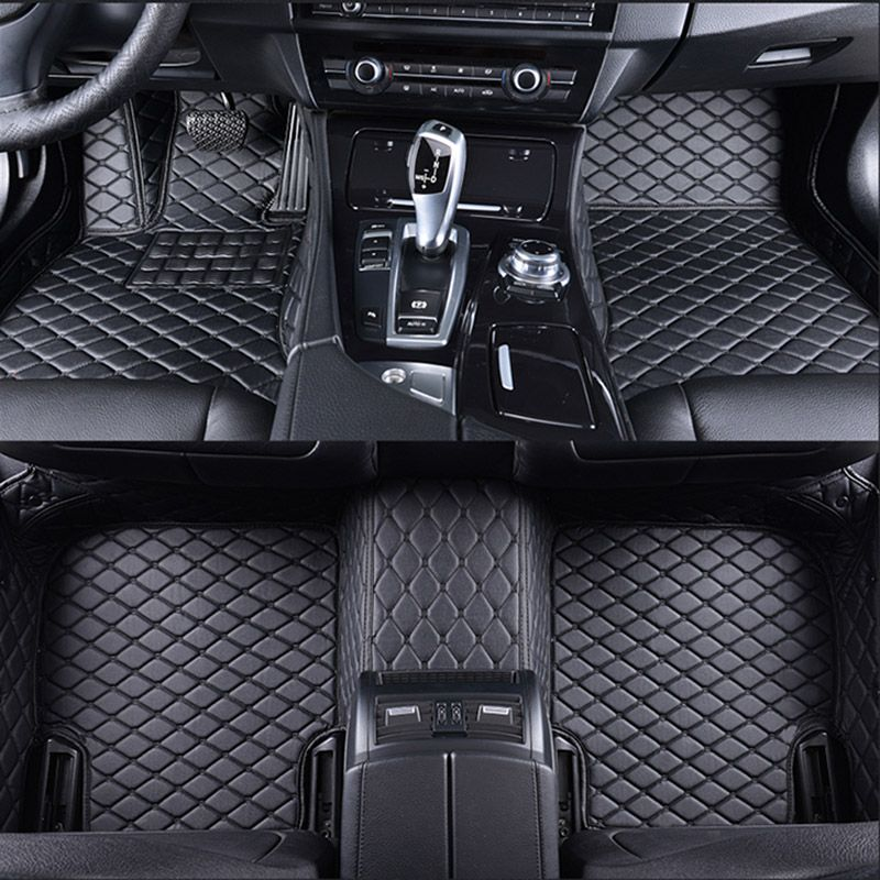 special car floor mats for HUMMER H2 H3 car styling auto accessories car Stickers carpet Custom foot mats 3D Black/Red/Gray