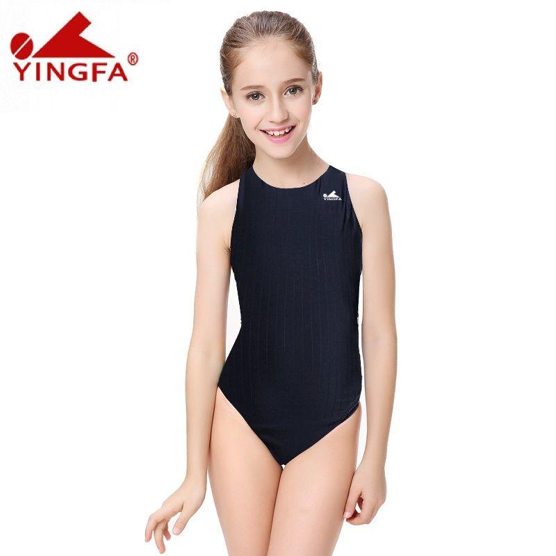 Yingfa natation compétitive enfants maillots de bain compétition maillots de bain formation maillot de bain maillot de bain femmes filles course grande taille