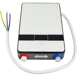 Новейший Электрический Мгновенный водонагреватель для душа 6500 Вт 220 В термостат проточный нагреватель ванная комната Отопление мгновенный...