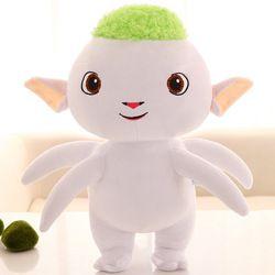 1 Pcs 25-65 Cm 2 Warna Wuba Boneka Gambar dari Rakasa Berburu 1 Huba Plush Toy Rakasa Lucu wuba Plush Boneka untuk Anak Laki-laki Film Kartun