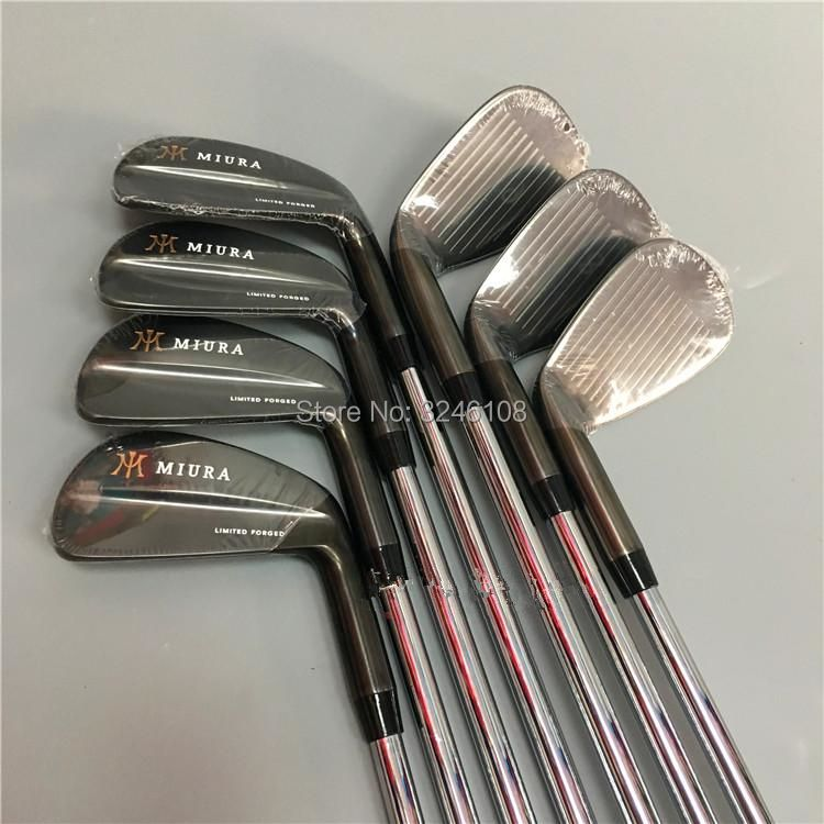 Golf irons MIURA Limited Forged Golf head set 4-9 P Irons Golf Clubs Free shipping